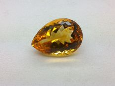 Citrine of 14.50 ct