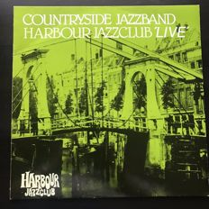 Collection of 8 Dutch Jazz records from the eighties including La Vida Jazzband, Lazy Mamas Jazz Orchestra, Joseph Lam Jazzband, Limehouse Jazzband and others