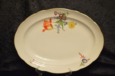 Very Large Meissen Serving Platter