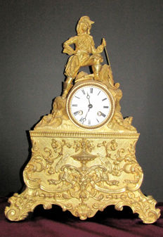 Antique Japy Freres Chimney Clock - 1870s