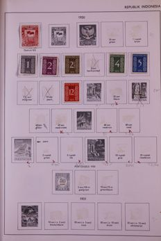 Netherlands Overseas 1872/1988 - Batch in 3 Importa albums, 1 Davo standard album and stock book