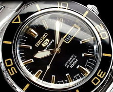Seiko Automatic 23 jewels – Made in Japan – Men's Automatic Watch.