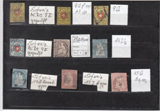 Old Switzerland - collection on stock cards