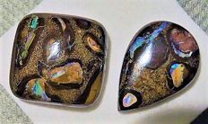 Lot Beautiful Australian Boulder Opals – Total 63.15cts (2)