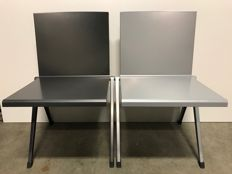 Gerrit en Wim Rietveld by Gispen - set of 2 recent 'Mondial' chairs