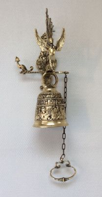 Bronze monastery bell, France, period 2nd half of the 20th century