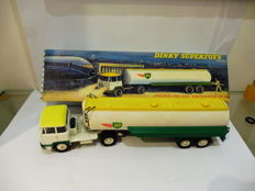 Dinky Supertoys-France - Scale 1/48 - Unic Tractor with Air BP Tanker No.887