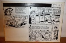 Jean Luc / Cary Page - Original page - Published in the Journal de Spirou #1358 - (1964)