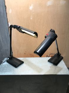 Lival poco - Two desk lamps 'delux junior'