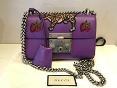 Gucci - Padlock embroidered 晚礼包
