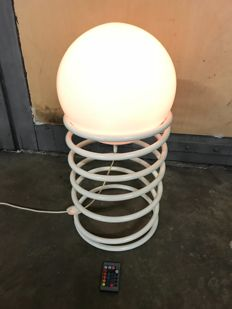 WOJA Holland - Spiral lamp with LED lamp