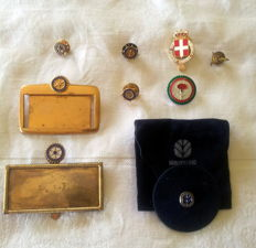 Nine pins Rotary, Order of the House of Savoy, Propeller Club, Costa Crociere