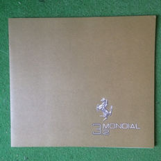 Presentation catalogue  of the Ferrari Mondial 3.2