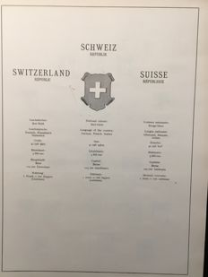 Switzerland - Batch in 3 stockbooks and on many pages