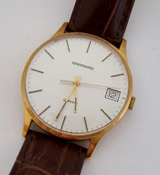 Garrard Quartz  - 9ct Gold Vintage Watch