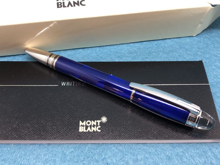 montblanc starwalker cool blue fineliner pen catawiki. Black Bedroom Furniture Sets. Home Design Ideas