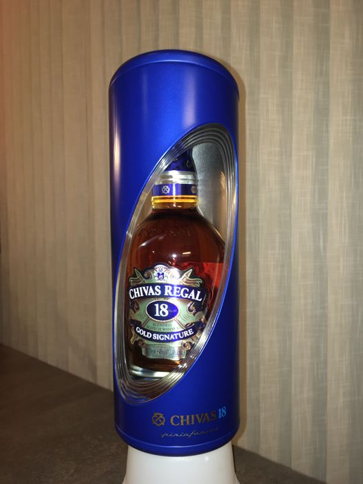 Chivas regal 18 years old pininfarina edition catawiki - Chivas regal 18 1 liter price ...