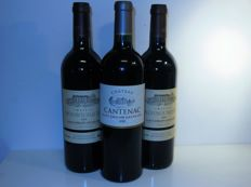 1999  Château Monbousquet Grand Cru classé x 2 bottles -  2000 Château Cantenac Grand Cru x 1 bottle / 3 bottles in total