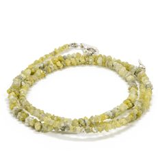 23.50 ct Bracelet or Necklace with Yellow Shade color Rough Diamonds