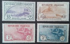 France 1917/1918 - 1st Orphans series, 4 large format - Yvert #152/155