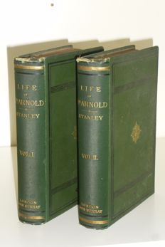 Arthur Penrhyn Stanley - The life and correspondence of Thomas Arnold - 2 volume set - 1877
