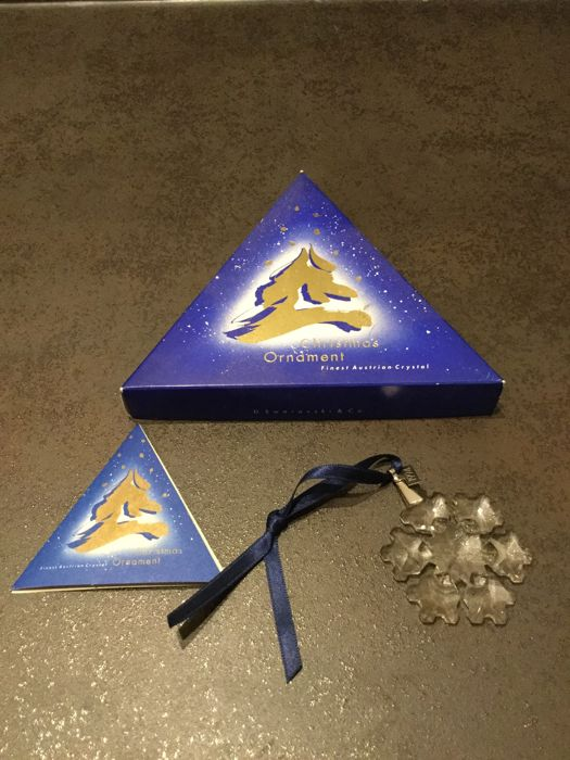 Swarovski Christmas Star 1994