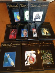 Don Lawrence Collection 1 t/m 10 - kunstleren hc (1991/1998)