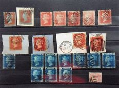 Great Britain and Commonwealth 1860/1960 - a selection on stock pages
