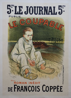 Th.A. Steinlen – Le Coupable – 1898