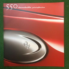 Presentation book of the Ferrari 550 Barchetta