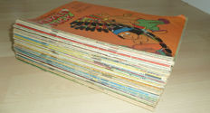 Donald Duck - 100 issues from 1960 and 1961 (single issues) + 11x De beste verhalen van DD + 10 pockets + 9 winter and holiday booklets