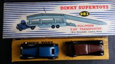 Dinky (Super)Toys - Scale 1/43-1/48 - Pullmore Car Transporter No.982 with Humber No.36c and No.36d Rover