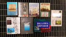 Hollandia Compendium and 7 other Dutch East India Company related books - 20th century
