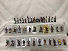 Collection of 42 Little Lead Soldiers.