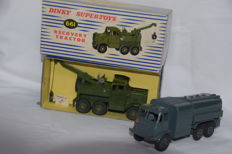 Dinky Supertoys - Scale 1/48 - Scammel Wrecker No.661 and RAF Refueller No.642.