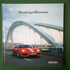 Presentation book of the Ferrari 360 Challenge Stradale