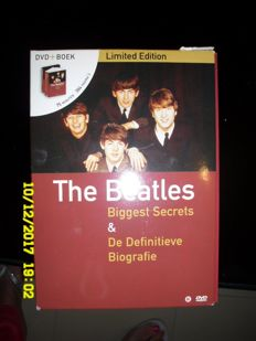 """The Beatles """"Biggest  Sectrets & De Definitieve Boagrafie"""" DVD and Book -Limited Edition"""