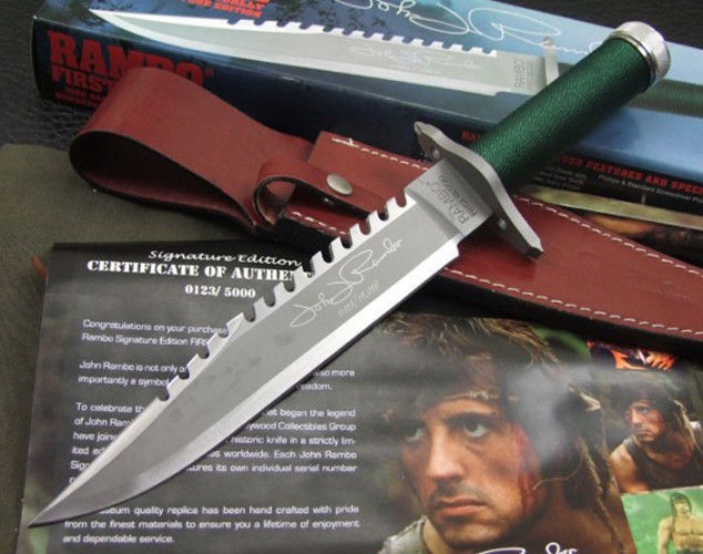 Rambo First Blood Part 2 Knife Deluxe - Catawiki