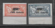 France 1927 - First Aeronautical Exhibition - Yvert 1-2