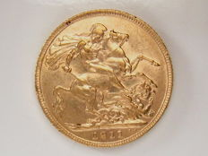 Great Britain – Sovereign 1911 – George V – gold