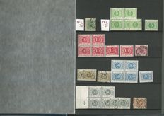 Belgium 1870/1980 - Selection tax en postage due stamps