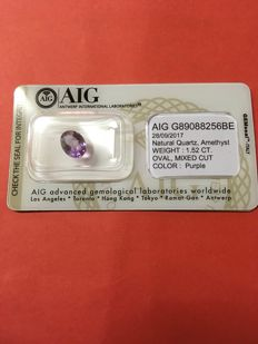 Purple Amethyst -1.52ct