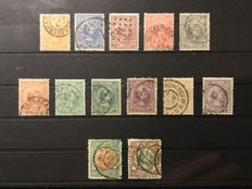 The Netherlands 1872/1948 - batch in stock book
