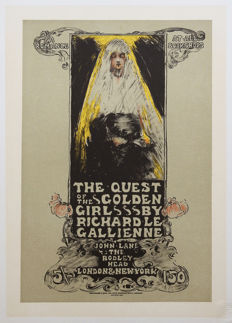 Ethel Reed – The Quest of the Golden Girl – 1898