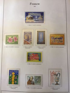 France 2000/2001 and colonies - Collection of Stamps including Vietnam after independence and New Caledonia