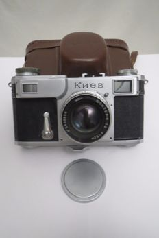 "The very first ""Kiev-2А""-""Contax-2"". Made at the Carl Zeiss Jena factory. Germany 1949 (Rarely)"