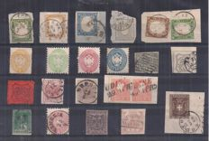 Historic States of Italy 1850/1863 - selection of stamps