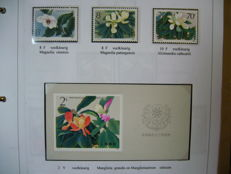 Theme Flora 1986/2008 - Collection on 742 sheets in 3 folders