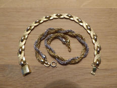 Kollmar & Jourdan and Andreas Daub - Two different gold plated bracelets