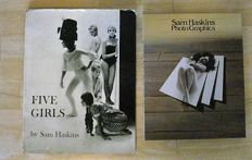 Sam Haskins; Lot with 2 publications - 1962 / 1980